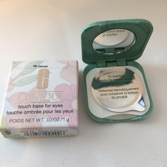 Clinique Makeup Touch Base For Eyes 10canvas 03oz Sealed Poshmark